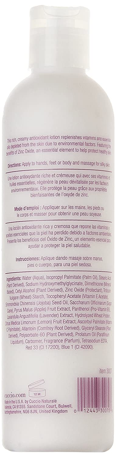 Amazon.com: Cuccio Naturale Lavender Environmental Hand Protection Lotion 8 oz: Health & Personal Care