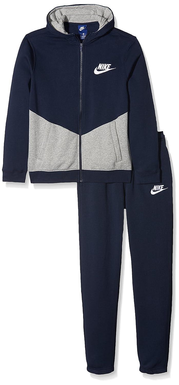 ae955f6684dda Nike NSW TRK BF B Core Survêtement Enfants XL Multicolore - Bleu Platine  (Obsidian Gym Blue Pure Platinum)  Amazon.fr  Sports et Loisirs