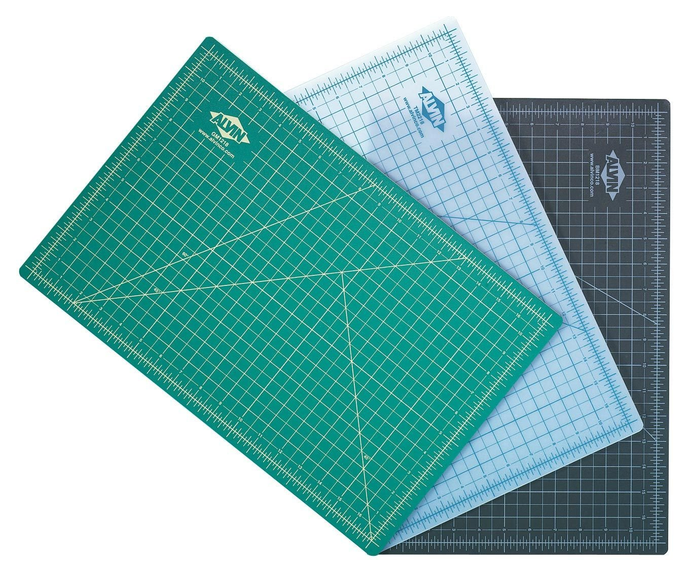 Alvin TM2248 TM Series Cutting Mats, 36 x 48 inches, Black by Alvin (Image #1)