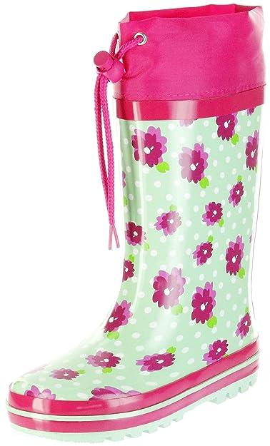 Mädchen Grün Kinder Regenstiefel Stiefel Gummistiefel Conway 0wmnN8