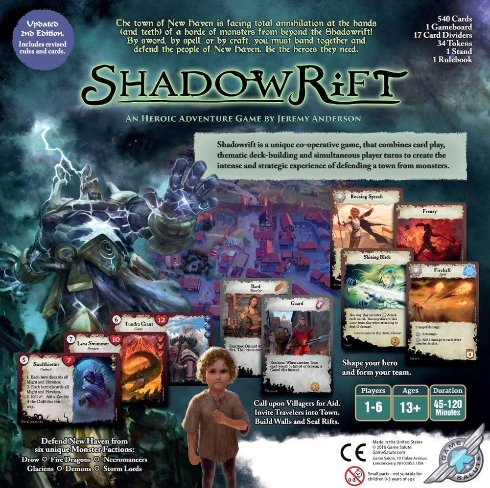 Game Salute Shadowrift 2nd Edition