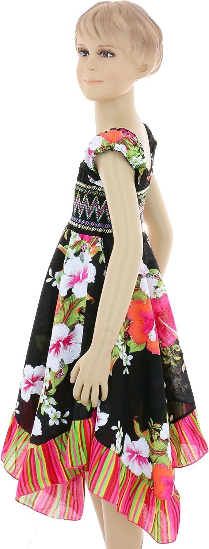 GILLSONZ Neu601vDa M/ädchen Kinder Sommer Freizeit Kleid