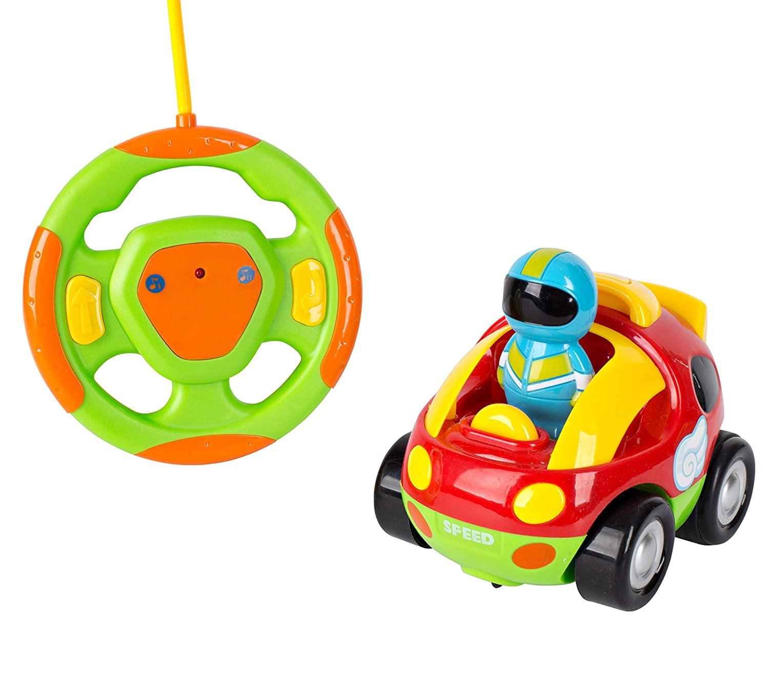 amazon com kids toy remote control race car cartoon rc car with