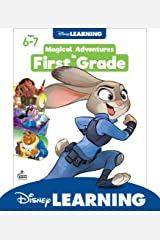 Disney Learning | Magical Adventures in 1st Grade | Math and Language Arts Workbook, 256pgs Paperback