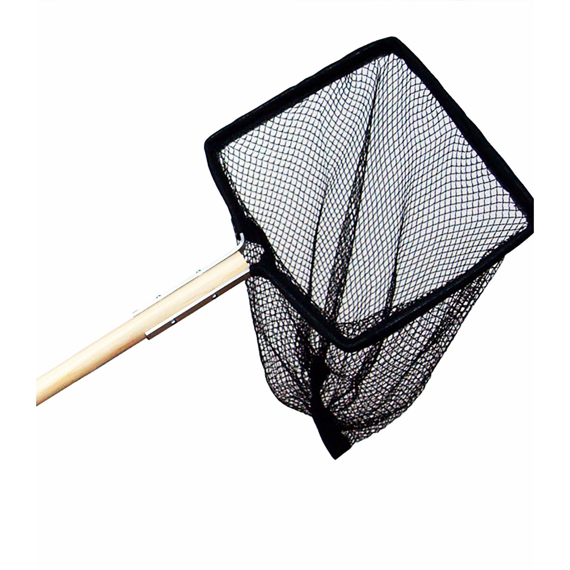 Supa Wooden Handle Pond Net (12x10-48 Handle) (Assorted)