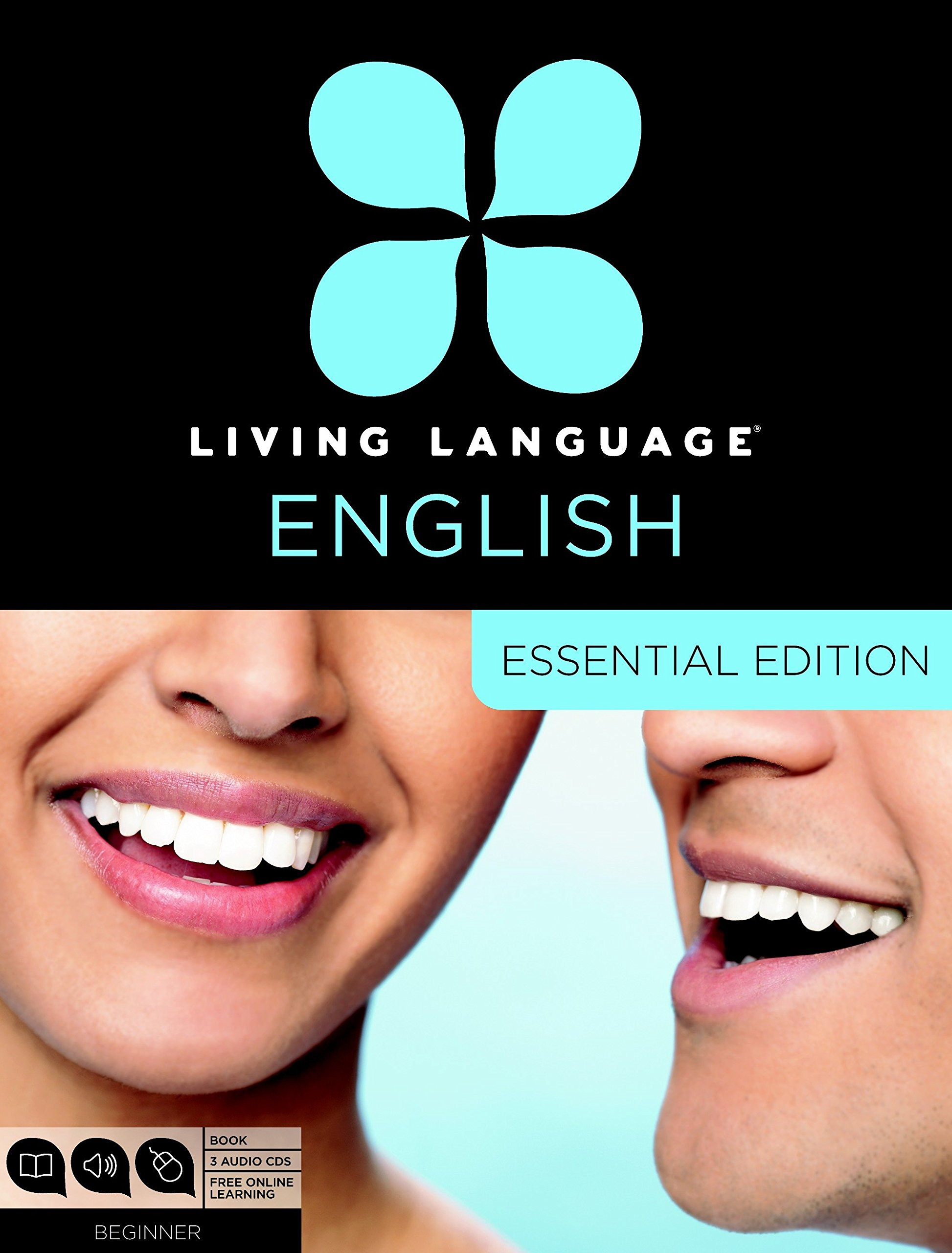 Living Language English, Essential Edition (ESL/ELL): Beginner course, including coursebook, 3 audio CDs, and free online learning