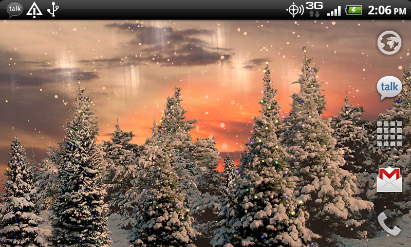 Amazon Snowfall Live Wallpaper Appstore For Android