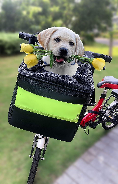 LONCEVON Dog Bike Basket
