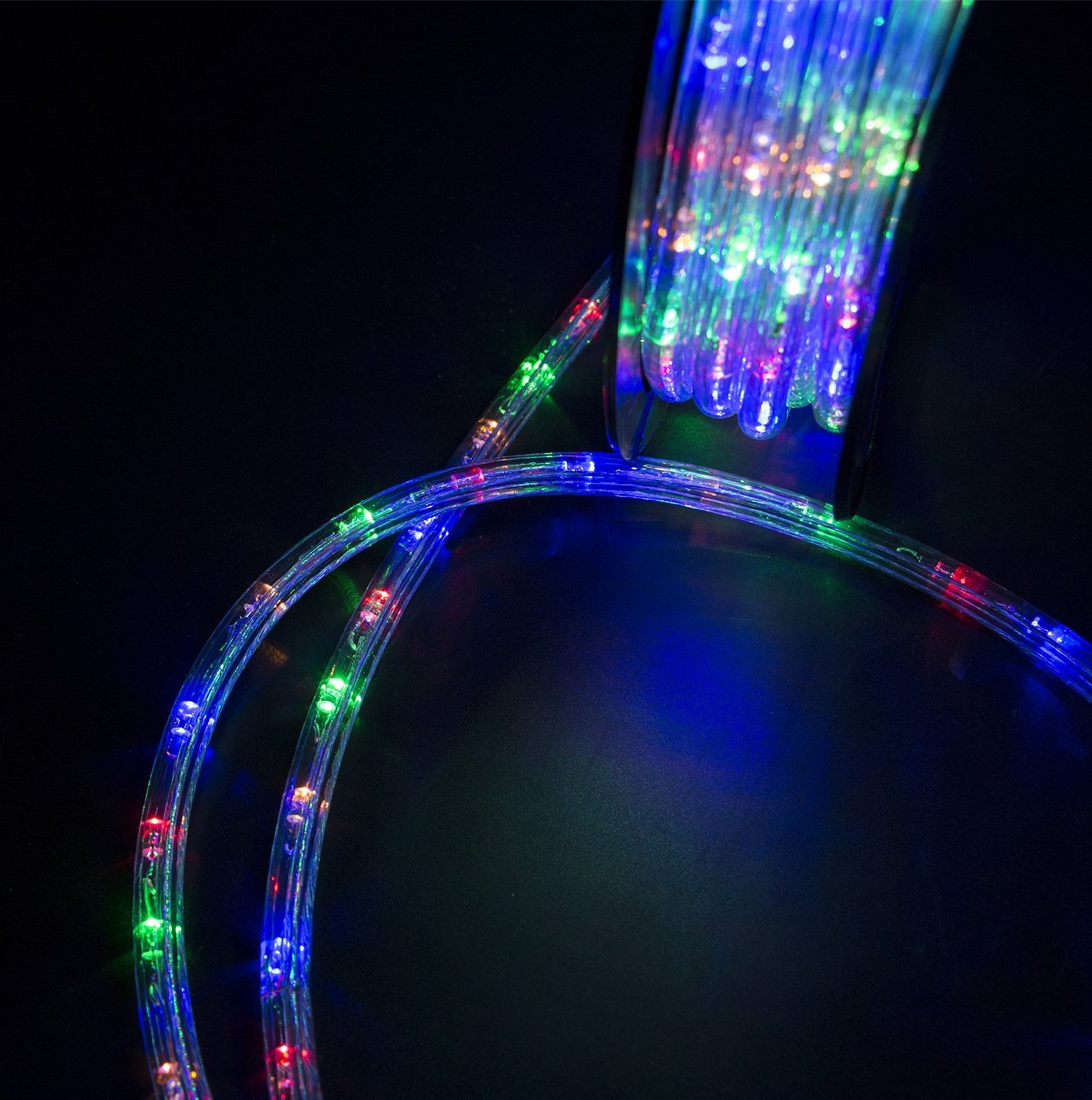 HYD-Parts 150Ft LED Rope Light,1620 LEDs Indoor Outdoor Waterproof LED Strip Lights Christmas Decorative Lighting Colorful