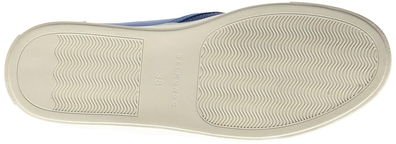 Belmondo 703429, Sneakers Basses Femme - Bleu - Blau (Celeste), 36