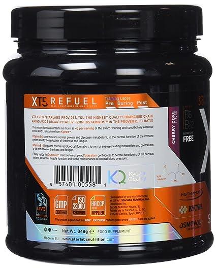 Starlabs Nutrition XT5 Refuel Cherry Coke - 348 gr: Amazon.es: Salud y cuidado personal