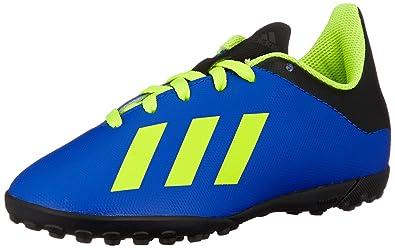 promo code 73be8 bded7 adidas X Tango 18.4 Tf, Scarpe da Calcio Unisex-Bambini, Blu Fooblu