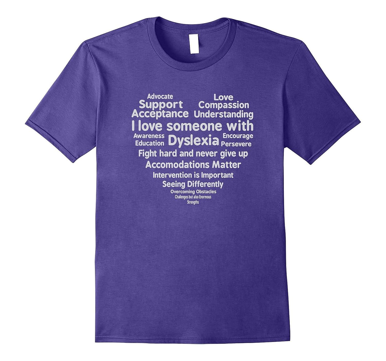 Dyslexia Awareness Month Support T Shirt-FL
