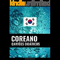 Cartões didáticos em coreano: 800 cartões didáticos importantes de coreano-português e português-coreano