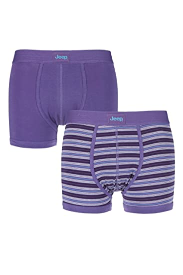 b6bbcea848 Jeep Mens 2 Pack Hipster Trunks Light Purple Sky Small at Amazon Men s  Clothing store