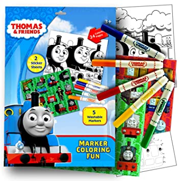 Thomas and Friends Coloring Art Activity Set With Stickers ...