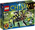 LEGO Legends Of Chima - Playthèmes - 70130 - Jeu De Construction - Le Tank Araignée De Sparratus