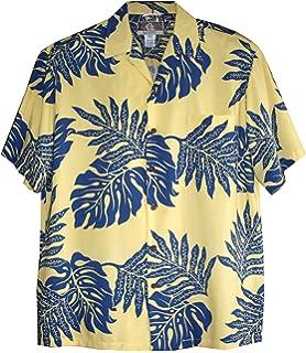 RJC Mens Geometric Garden Peached Cotton Shirt