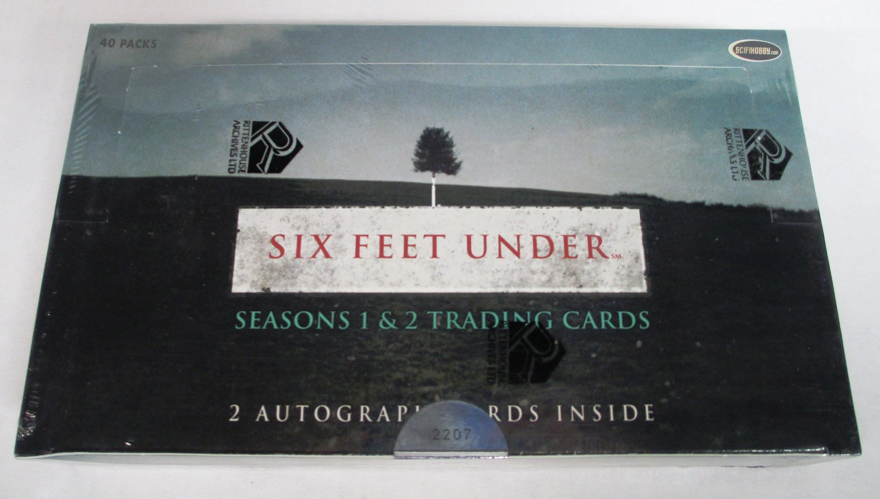 Six Feet Under Seasons 1 & 2 Trading Cards Box Set with 2 Autograph Cards