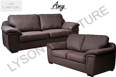 Marca nueva – AMY – Juego de sofá para sala de estar – Piel ...