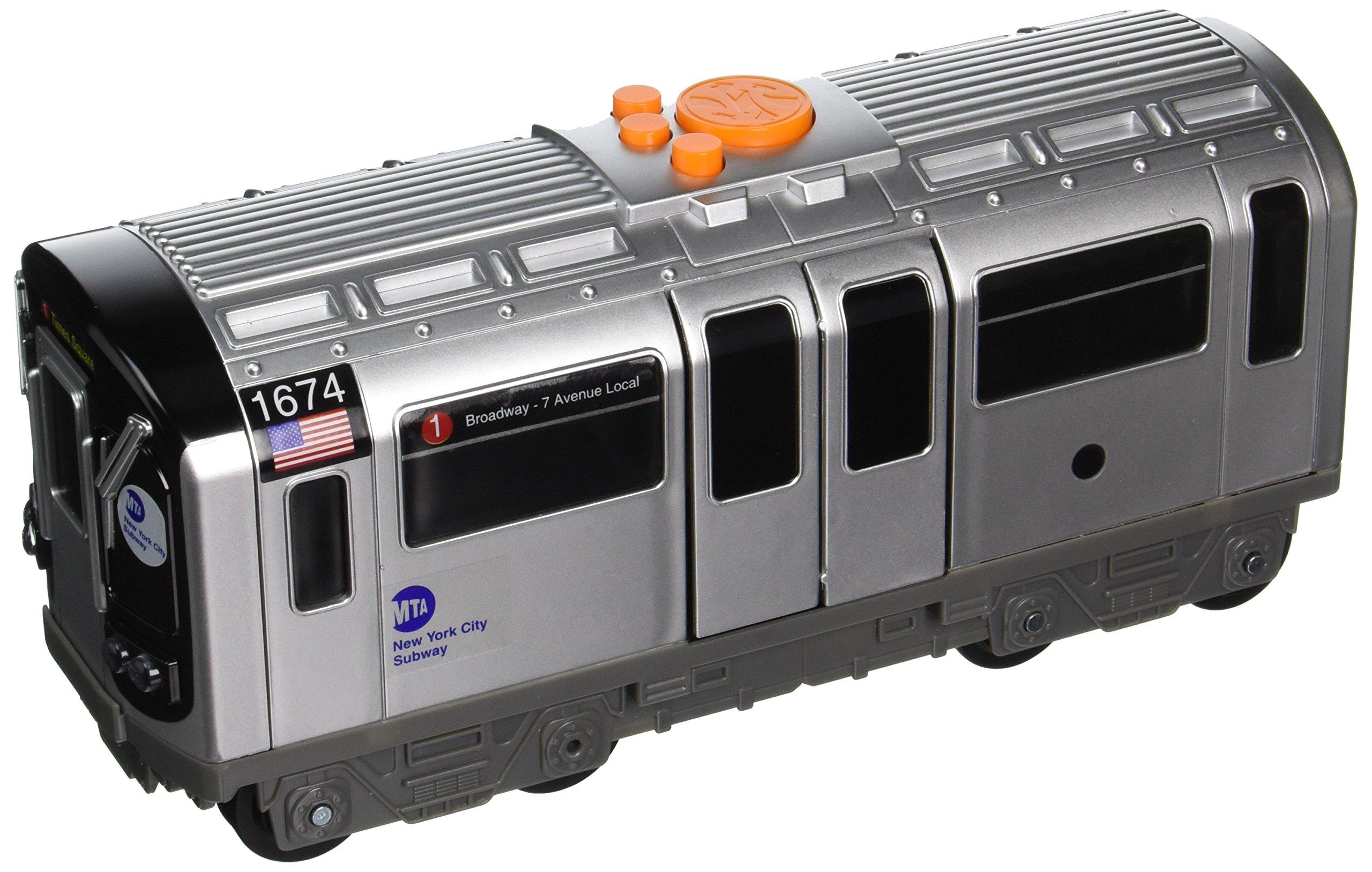 Daron MTA Motorized Subway Car with Lights, Sound & Working Doors
