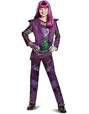 (Medium (7-8), Purple) - Disney Mal Deluxe Descendants 2 Costume, Purple, Medium (7-8)