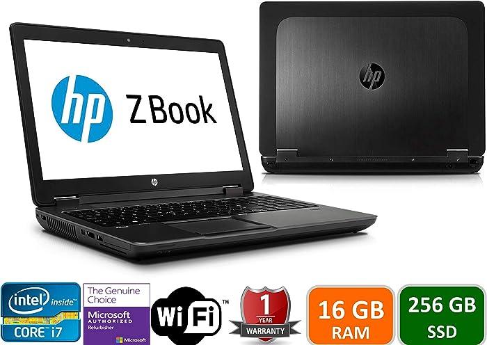 HP Zbook 15 G3 Intel i7-6700HQ, 16GB Memory, 256GBSSD, 15.6