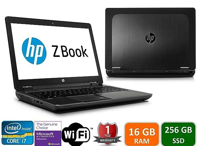 Amazon.com: HP Zbook 15 Intel i7-4800HQ, 16GB Memory ...