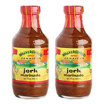 Jamaican Jerk Marinade Seasoning Sauce – Achieve the Absolute Traditional Island Flavor Taste Formulated |Perfect