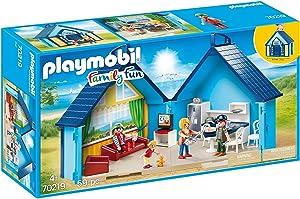Playmobil 70219 My Funpark Take Along Vacation - Fun Park Summerhouse Family Take Along Playbox Set House Rare