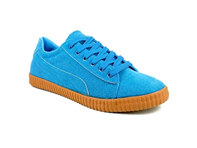 dc3f6fe75f1 Ripley Magnet Series Blue Suede Casual Shoes  Buy Online at Low Prices in  India - Amazon.in