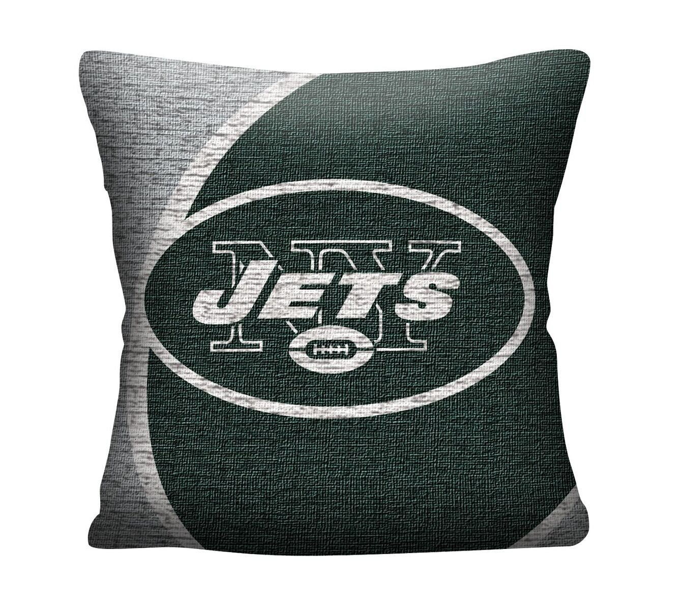 The Northwest Company Officially Licensed NFL New York Jets Portal Jacquard Pillow, 20'' by The Northwest Company