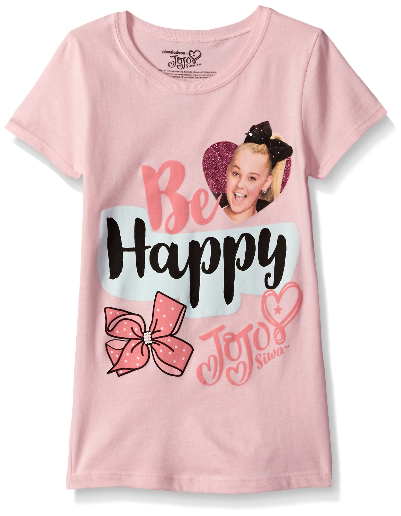 Jojo Siwa Girls' Little Short Sleeve T-Shirt