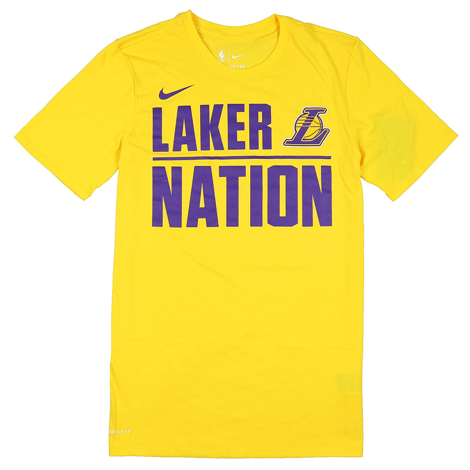 most fashionable 50% price diversified latest designs Amazon.com : Nike Men's Los Angeles Lakers Laker Nation T ...