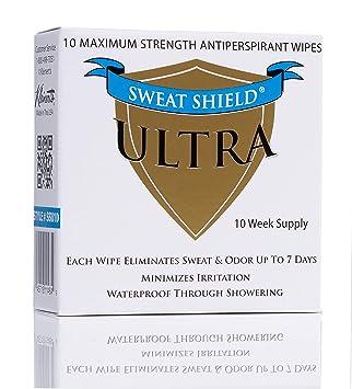Kleinert Extra Fuerza de Ultra sudor Shield clínicos antitranspirante Toallitas elimina axilas sudor hasta 7 días - 5 paquetes: Amazon.es: Salud y cuidado ...