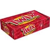 TWIX Peanut Butter Sharing Size Chocolate Cookie Bar Candy 2.8-Ounce Bar 18-Count Box