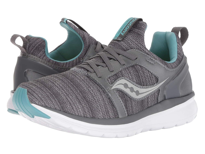 【オープニングセール】 [SAUCONY(サッカニー)] レディースランニングシューズスニーカー靴 Stretch & Go - Ease Medium [並行輸入品] Ease B07KWPMPCS Grey/Mint 5.5 (22cm) B - Medium 5.5 (22cm) B - Medium|Grey/Mint, Masters collection:bfcd71c1 --- senas.4x4.lt