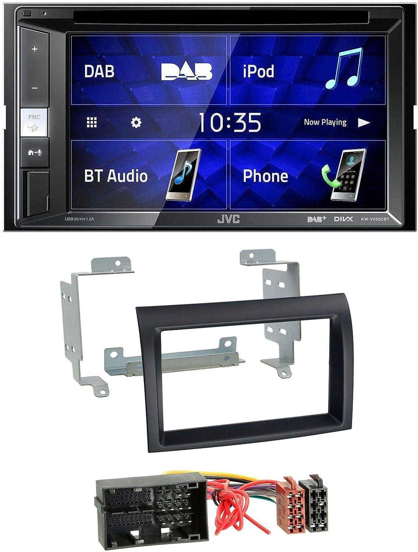 Caraudio24 Jvc Kw V255dbt Bluetooth Usb Dab Dvd 2din Elektronik