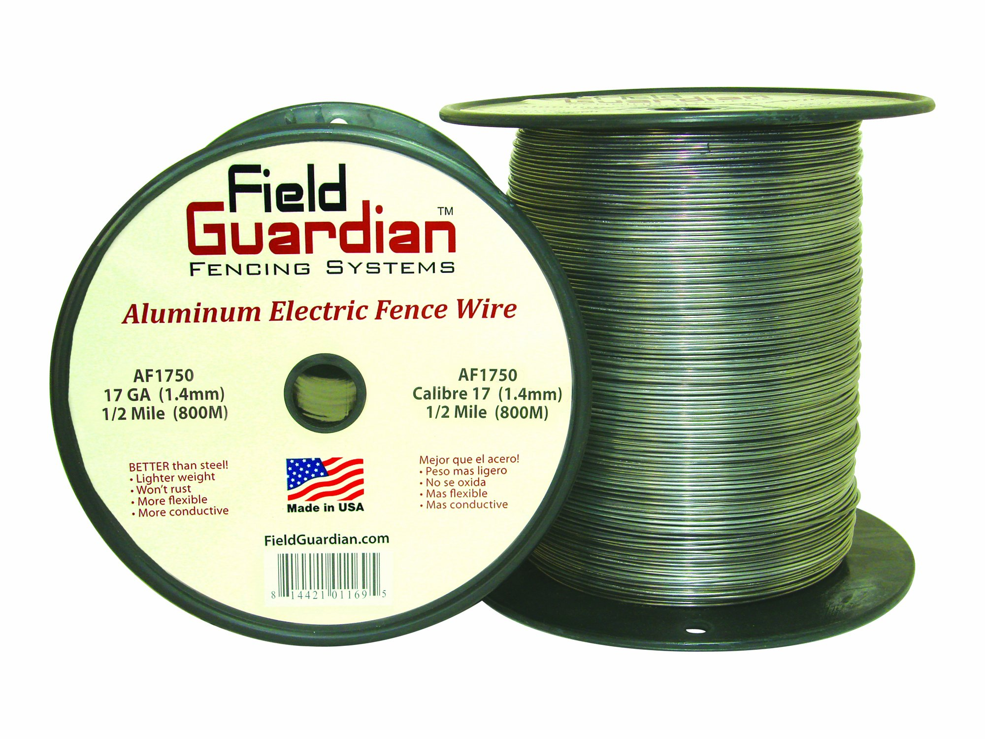 Field Guardian 17-Guage Aluminum Wire, 1/2 Miles by Field Guardian (Image #1)