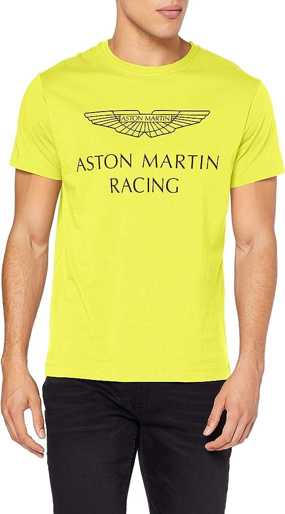 Hackett London Amr Wings tee Camiseta, Multicolor (Lime 638), X-Small para Hombre: Amazon.es: Ropa y accesorios