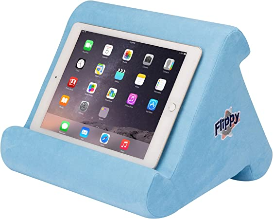 fabric stand ipad pillow kids tablet stand kindle stand ipad mini stand Light blue ipad stand tablet cushion soft pillow for iphone