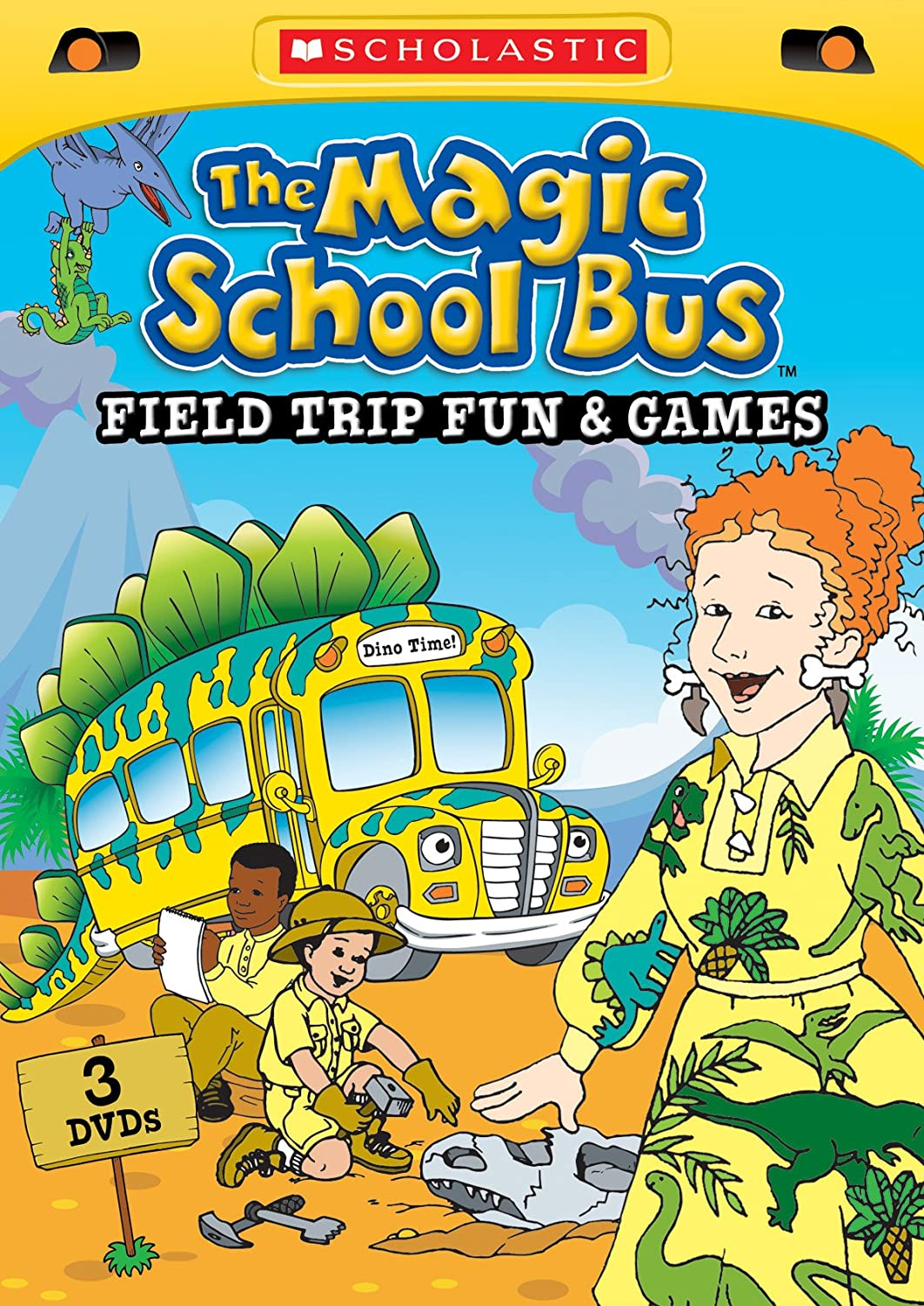 Amazon Com The Magic School Bus Field Trip Fun Games Various Scholastic Movies Tv