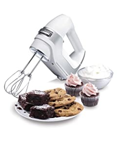 Hamilton Beach 62652 5-Speed Hand Mixer One size White