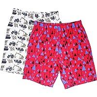 Sangsi Enterprises Boy's Printed Cotton Shorts