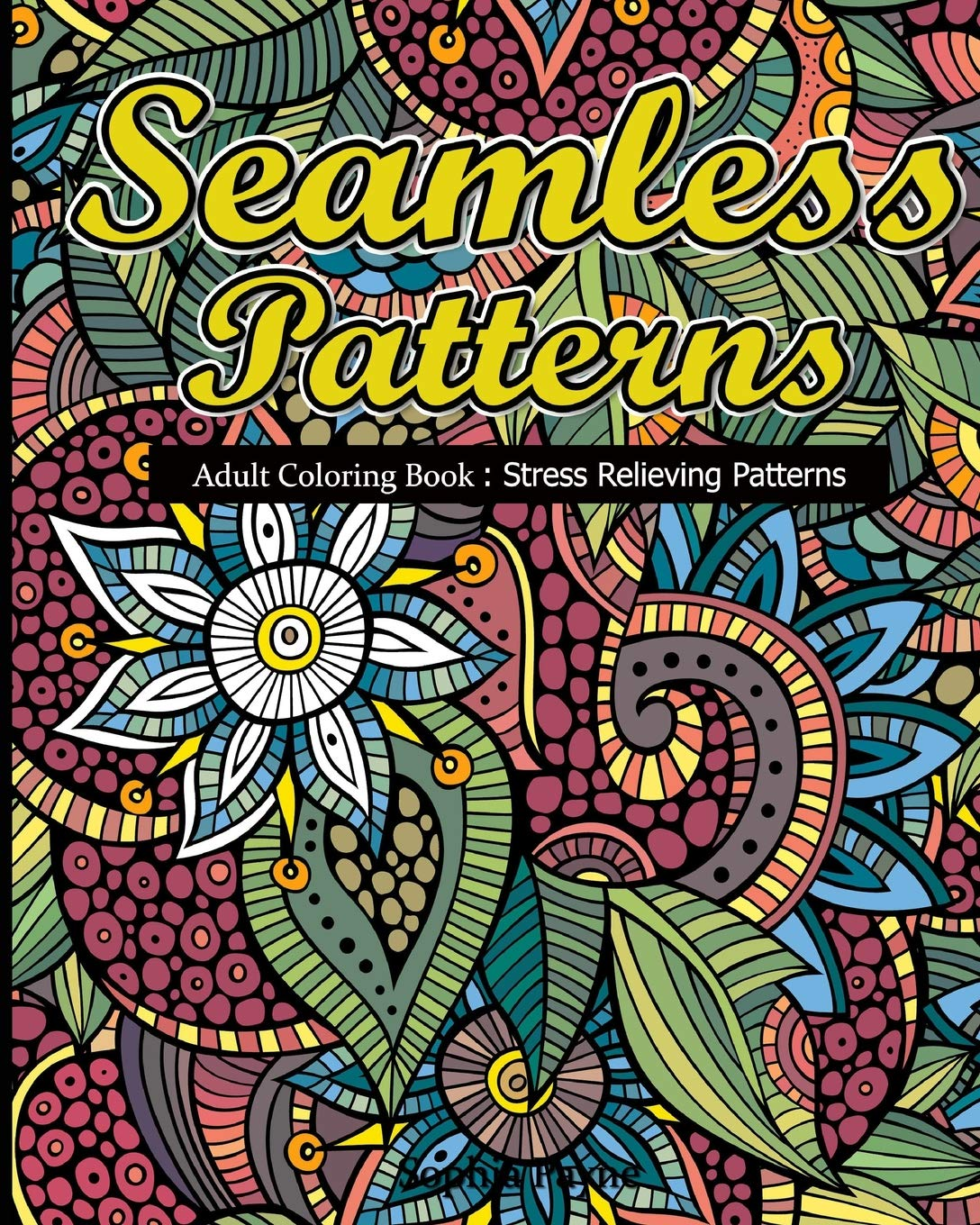 - Amazon.com: Seamless Patterns: Adult Coloring Book : Stress