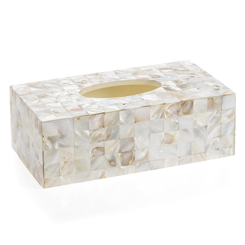 Amazon.com: Creative Scents Milano Rectangle Tissue Box, 5.75-Inch ...