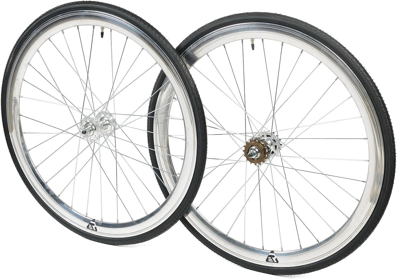 Retrospec Mantra Bicicletas de piñón Fijo/Single-Speed Juego de ...