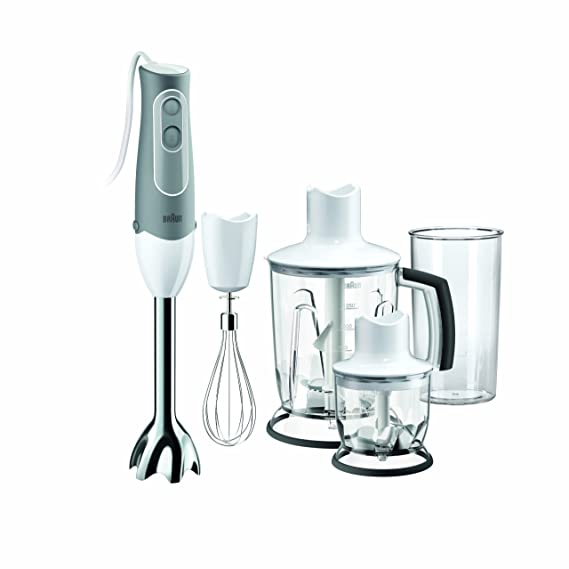 Braun MQ545 Multiquick Aperitive Hand Blender, 220-volt Hand Blenders at amazon