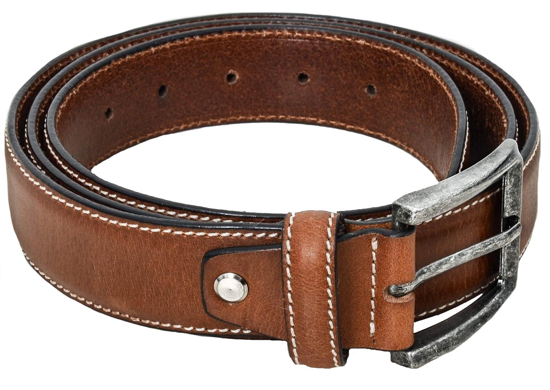 Gusti Leder studio Cinturón de Cuero 120 cm para Hombre Mujer Unisex Chico Joven Señor Caballero Señ...