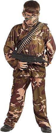Disfraz Soldado Camuflaje (10-12 AÑOS): Amazon.es: Juguetes y ...